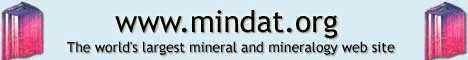 www.mindat.org online mineralogy database